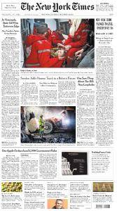 The New York Times - December 28, 2017