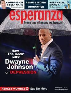 esperanza Magazine for Anxiety & Depression - February 2018