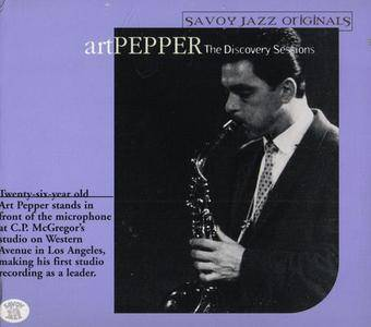 Art Pepper - The Discovery Sessions (1999)