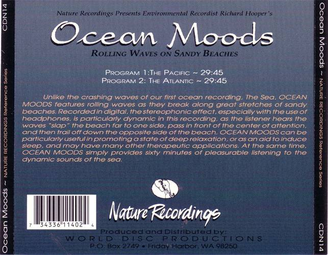 Ocean Moods - Rolling Waves On Sandy Beaches (1991) {Nature Recordings} **[RE-UP]**