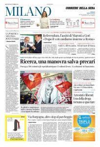 Corriere della Sera Milano - 19 Ottobre 2017