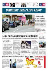Corriere dell'Alto Adige - 11 Luglio 2018