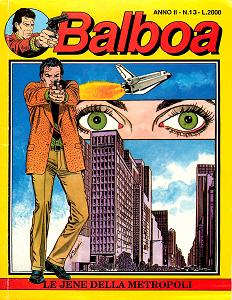 Balboa - Volume 13 - Le Jene della Metropoli