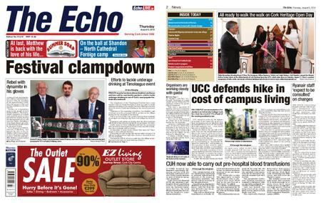 Evening Echo – August 08, 2019