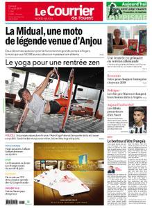Le Courrier de l'Ouest Nord Anjou – 31 août 2019