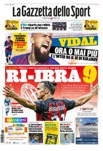 La Gazzetta dello Sport Bergamo – 28 agosto 2020