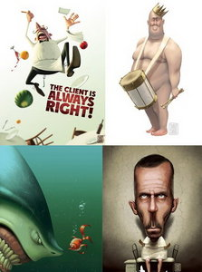 Funny Illustrations by Denis Zilber