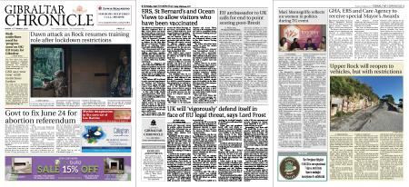 Gibraltar Chronicle – 12 March 2021