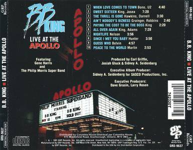 B.B. King - Live At The Apollo (1991) [Re-Up]