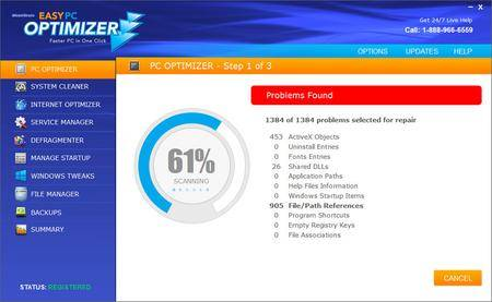 Webminds Easy PC Optimizer 1.6.1.207