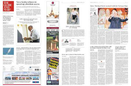 The Globe and Mail – September 26, 2018