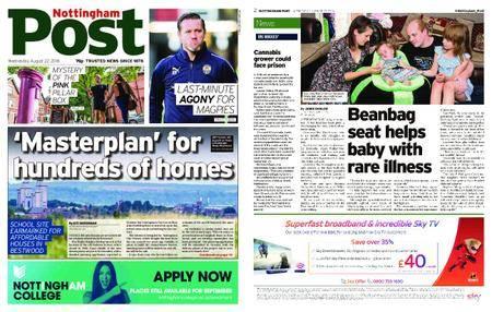 Nottingham Post – August 22, 2018