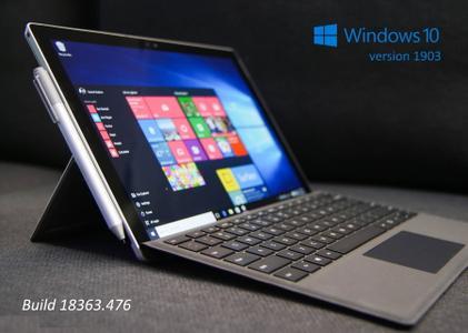 Windows 10 version 1903 (19H1) Build 18362.476