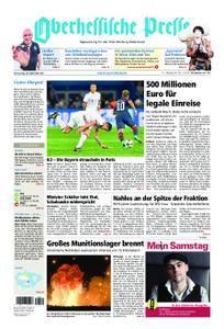 Oberhessische Presse Marburg/Ostkreis - 28. September 2017