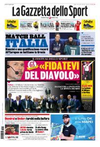 La Gazzetta dello Sport Roma – 12 ottobre 2019