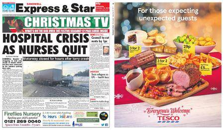 Express and Star Sandwell Edition – December 13, 2017