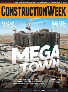 Construction Week Middle East – April 13, 2019