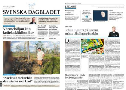 Svenska Dagbladet – 06 augusti 2018