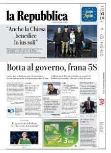 la Repubblica - 25 Marzo 2019
