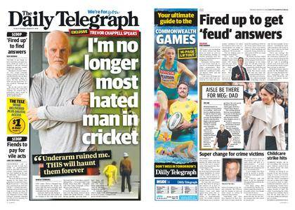 The Daily Telegraph (Sydney) – March 27, 2018