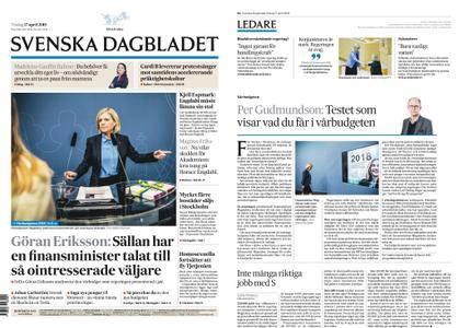 Svenska Dagbladet – 17 april 2018