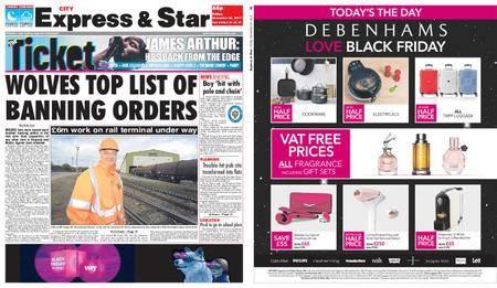 Express and Star City Edition – November 24, 2017