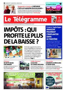 Le Télégramme Brest Abers Iroise – 14 février 2020