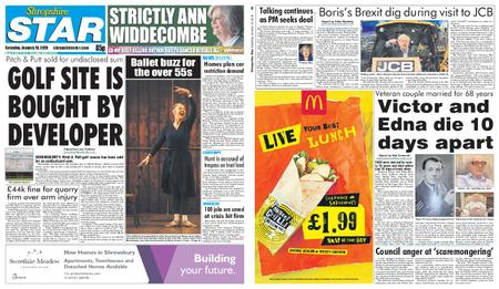 Shropshire Star Shrewsbury Edition – January 19, 2019