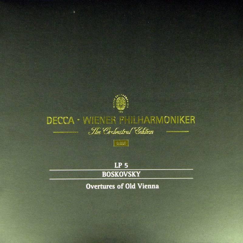 Decca, Wiener Philharmoniker - 6 Classic Analogue LPs (2014) [Vinyl Rip 16/44]