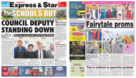 Express and Star Sandwell Edition – July 19, 2019