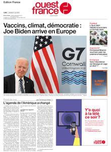 Ouest-France Édition France – 11 juin 2021