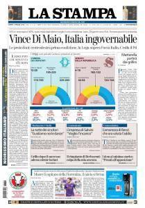 La Stampa Imperia e Sanremo - 5 Marzo 2018