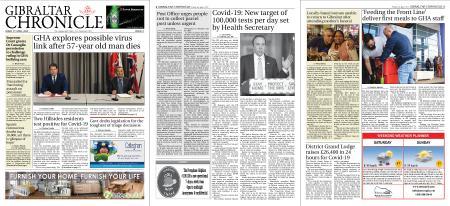 Gibraltar Chronicle – 03 April 2020