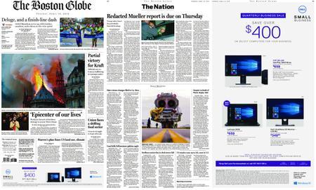 The Boston Globe – April 16, 2019