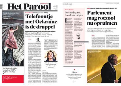 Het Parool – 25 september 2019