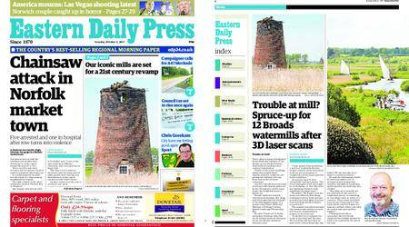Eastern Daily Press – October 03, 2017