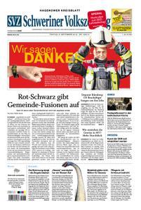 Schweriner Volkszeitung Hagenower Kreisblatt - 06. September 2019