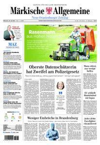 Neue Oranienburger Zeitung - 18. Juli 2018