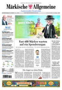 Märkische Allgemeine Luckenwalder Rundschau - 02. Juni 2018