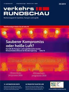 VerkehrsRundschau - 24. September 2019