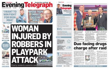 Evening Telegraph First Edition – October 16, 2019