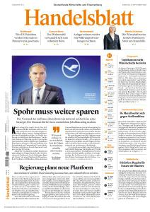 Handelsblatt - 8 September 2020