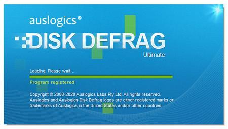 Auslogics Disk Defrag Ultimate 4.11.0.5  Portable
