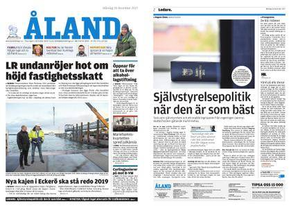 Ålandstidningen – 18 december 2017