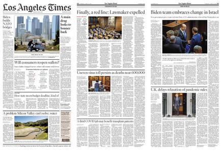Los Angeles Times – June 15, 2021