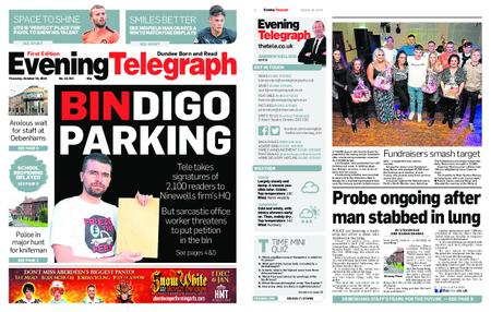 Evening Telegraph First Edition – October 25, 2018