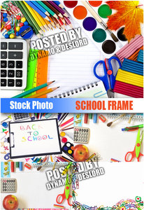 School Frame - UHQ Stock Photo