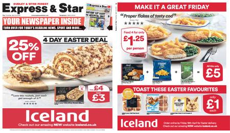Express and Star Dudley and Wyre Forest Edition – April 18, 2019