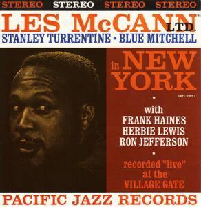 Les McCann - Les McCann Ltd. In New York (1961) {Pacific Jazz CDP 7 92929 2 rel 1989}