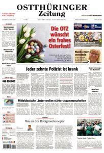 Ostthüringer Zeitung Jena - 31. März 2018